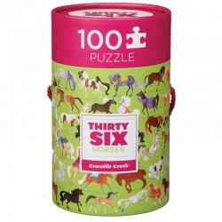 Puzzel 36 paarden (100 stuks)