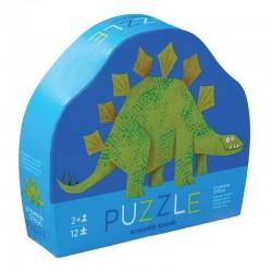 Puzzeltje Stegosaurus (12 stuks)