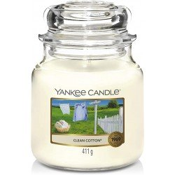 Bougie Yankee candle Serviettes moelleuses (medium)