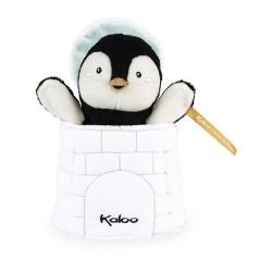 Marionnette Cache-Cache Pingouin Kaloo