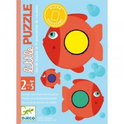 Jeu de cartes Little Puzzle Djeco