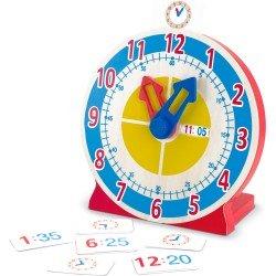 Horloge éducative Mélissa & Doug