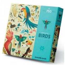 Puzzle Les oiseaux (750 pcs)