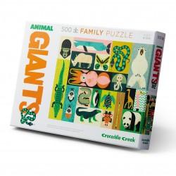 Puzzle Animaux géants (500 pcs)