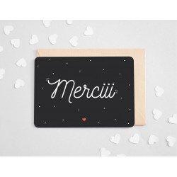 """Carte """"Merciii"""""""