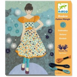 Broderie - Fashion Midnight Djeco