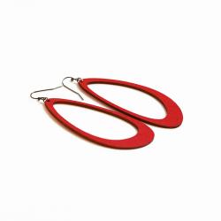 Boucles d'oreilles Monarq L rouge Restore
