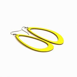 Boucles d'oreilles Monarq L citron Restore