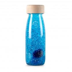 Bouteille sensorielle Float bleue - Petit Boum