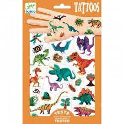 """Djeco Tatoeages """"Dino's"""""""