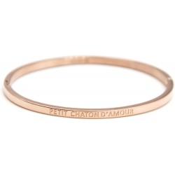 """Bracelet rosé """"Petit chaton d'amour"""""""