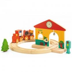 Mini Train Djeco