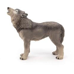Papo huilende wolf figuur