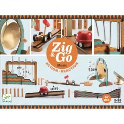 Zig & Go Music, actie-reactie baan (52 stuks)
