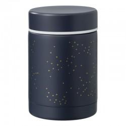 Thermos voedselcontainter - Indigo dots