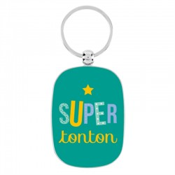 "Sleutelhanger ""Super Tonton"""