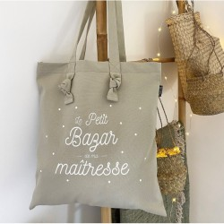 "Tote bag ""Maîtresse"""
