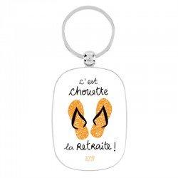 "Porte-clef ""Retraité"""