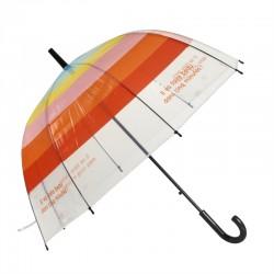 Parapluie cloche adulte Rainbow