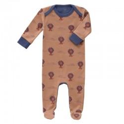 Pyjama Lion avec pieds Fresk