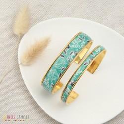 Bracelet jonc fin Turquoise La Belle Camille