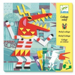 Collage relief - Monsters gallery