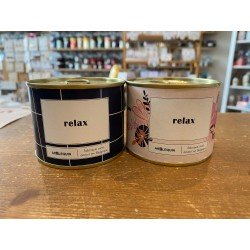 """Bougie conserve """"Relax"""""""