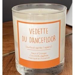"""Kaars """"Vedette du dancefloor"""""""
