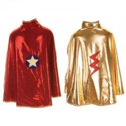 Omkeerbare cape superheldin
