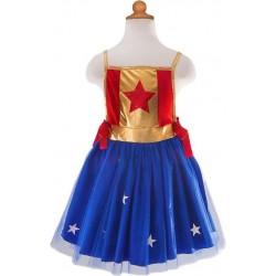 Verkleedjurk superheldin (4-7 jaar)