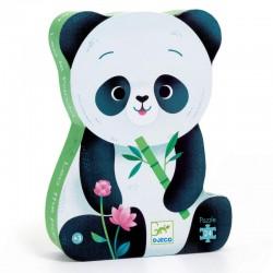Puzzel Leo de panda Djeco (24 stuks)