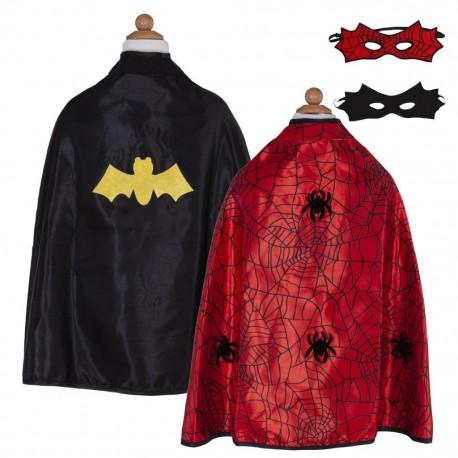 Omkeerbare superheld outfit (4-6 jaar)
