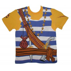 Piraat T-shirt 6-9 jaar