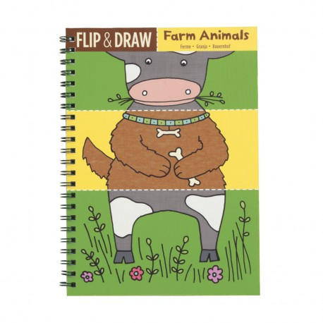 Kleurboek Flip & Draw Boerderij