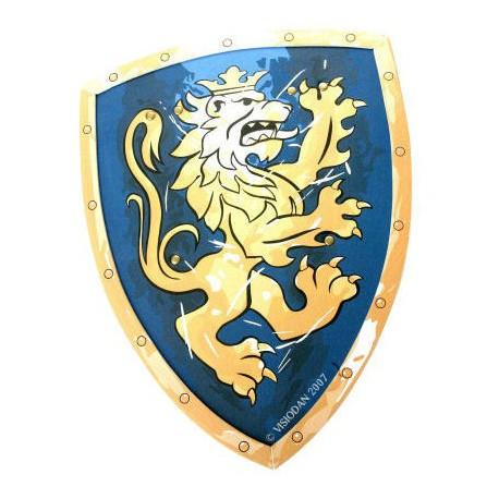 Schuim Schild Ridder blauw