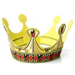 Koning Kroon in schuim