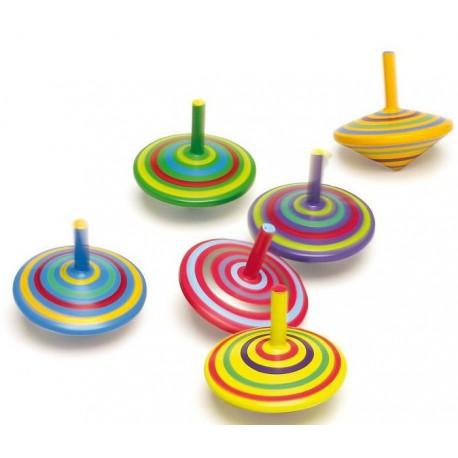 Toupie colorée
