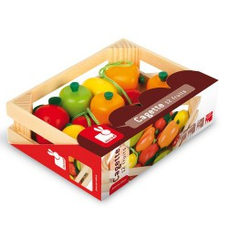 Cagette 12 fruits Janod