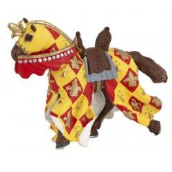 Papo paard met lelie cape rood