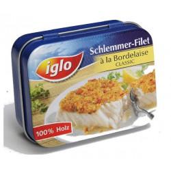Filet de poisson en boite