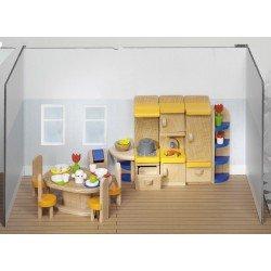 Meubles Cuisine moderne maison de poupée