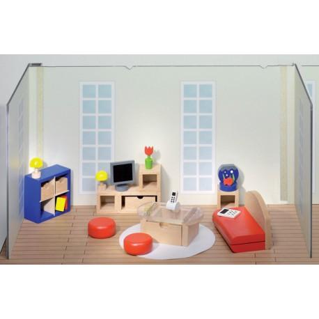 Moderne zitkamer