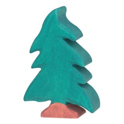 Figurine petit Sapin en bois Holztigr