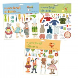 Stickers La Grande Famille Moulin Roty