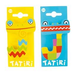 Lettre en bois Tatiri - J