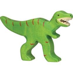 Figurine en bois Tyrannosaure