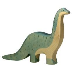 Figurine en bois Brontosaure