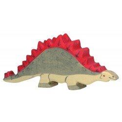 Houten Figuur Stegosaurus