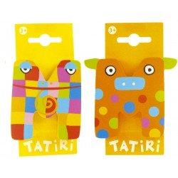 Tatiri houten letter - M