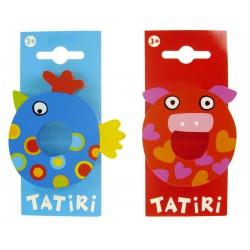 Lettre en bois Tatiri - O